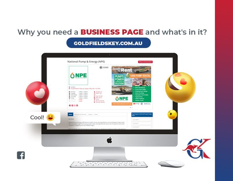 Why You Need A Business Page and What's In It